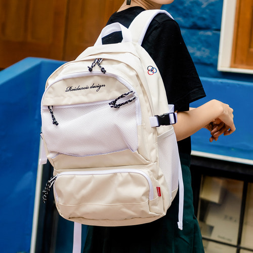 OMG BACKPACK (IVORY)