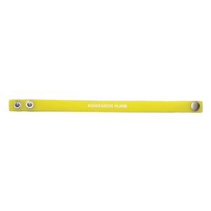 HASHTAG BUTTON NIGHTGLOW BAND (LIME)
