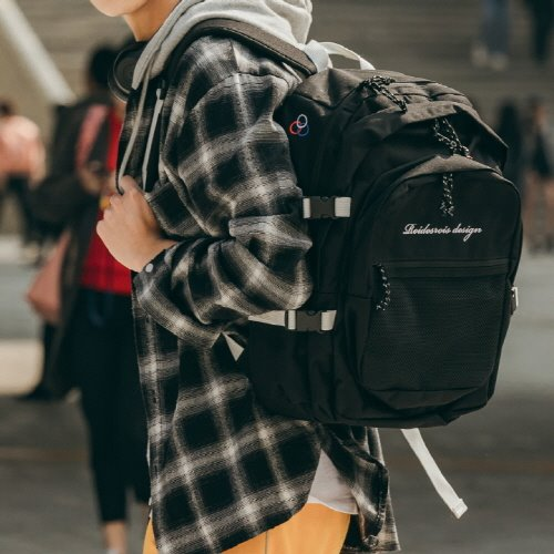 OH OOPS BACKPACK (BLACK)