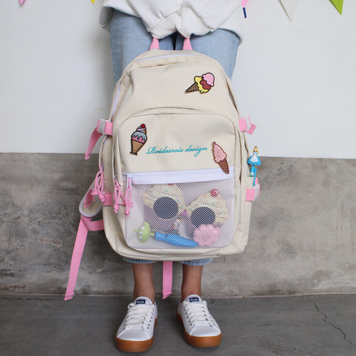 OH OOPS BACKPACK (ICE CREAM)