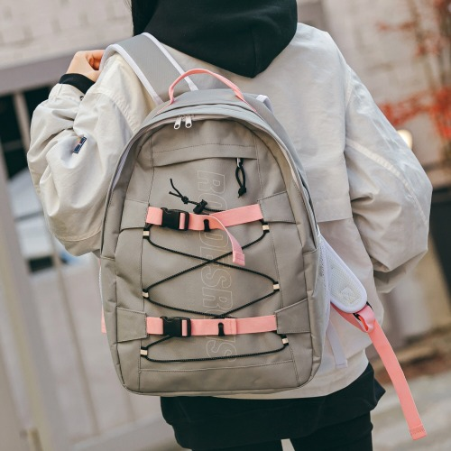 RDR 3D MATRIX BACKPACK (GRAY/PINK)