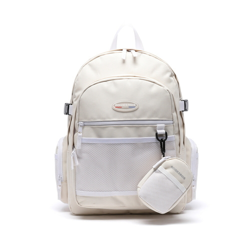 PLAN B CIRCLE BACKPACK (IVORY)