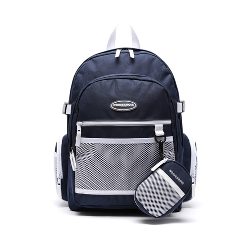 PLAN B CIRCLE BACKPACK (NAVY)