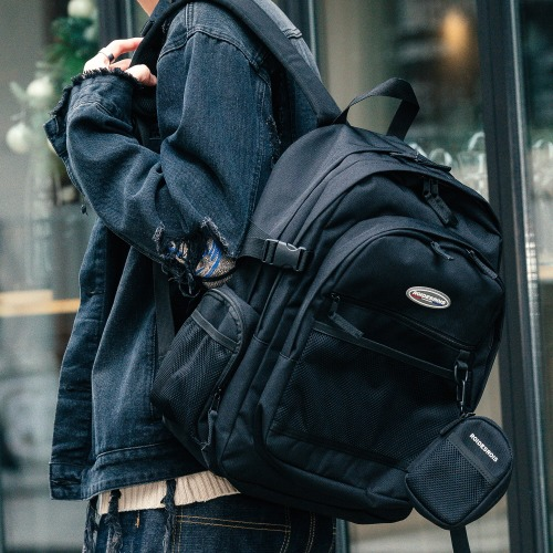 PLAN B CIRCLE BACKPACK (BLACK)