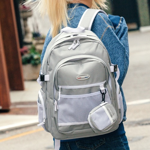 PLAN B CIRCLE BACKPACK (GRAY)