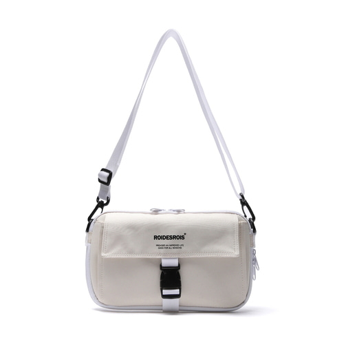 BRAVO BUCKLE CROSS BAG (IVORY)