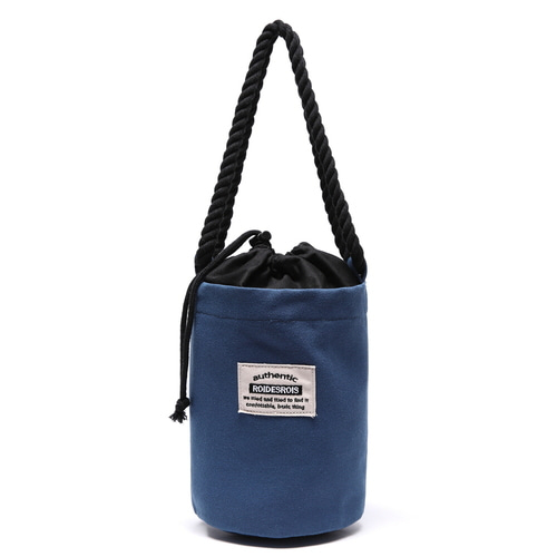 ROPE COTTON SHOULDER BAG (BLUE)